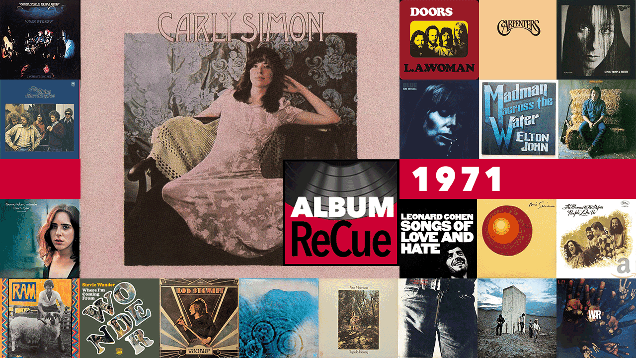 Carly Simon (collage by Laura Fedele for WFUV)