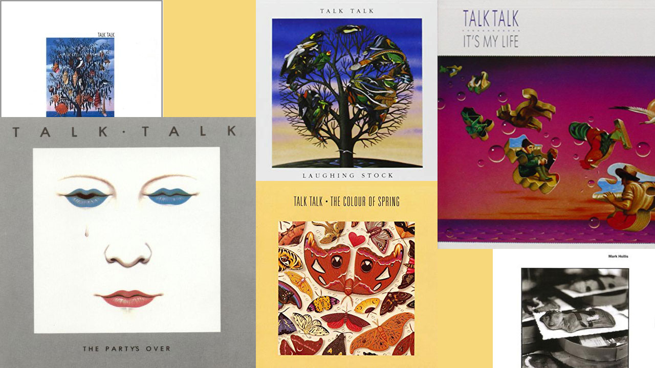 The albums of Talk Talk and Mark Hollis (collage by Laura Fedele, WFUV)