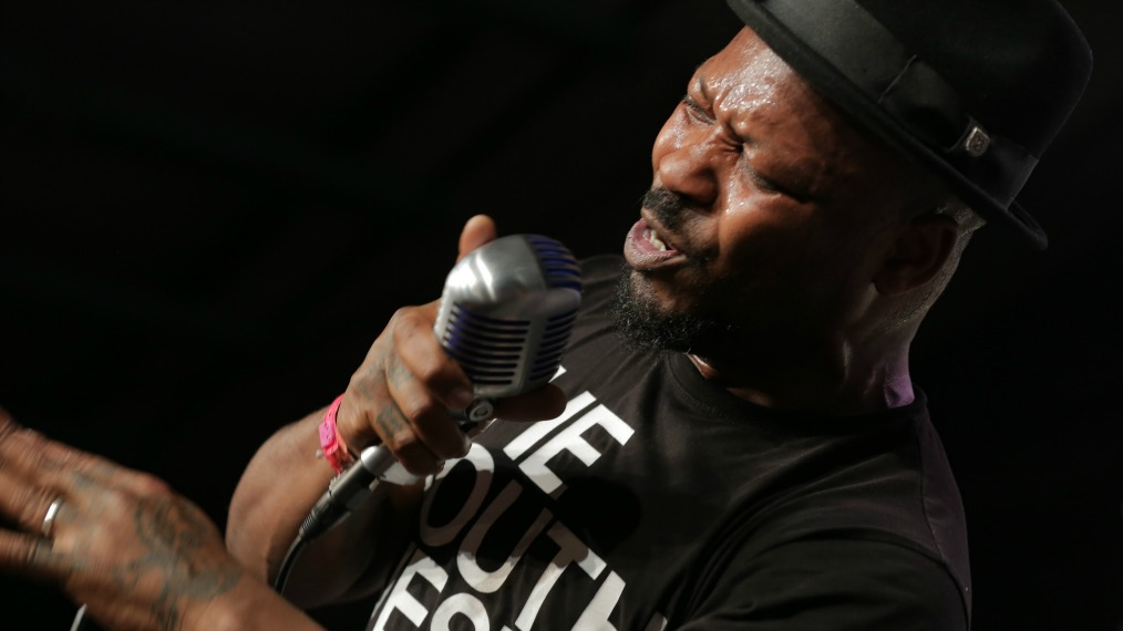 Kelvin Swaby of The Heavy at SXSW Radio Day Stage