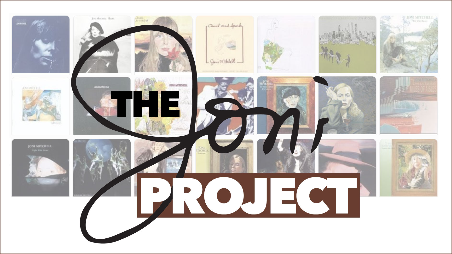 Honoring Joni Mitchell, it's The Joni Project from WFUV.