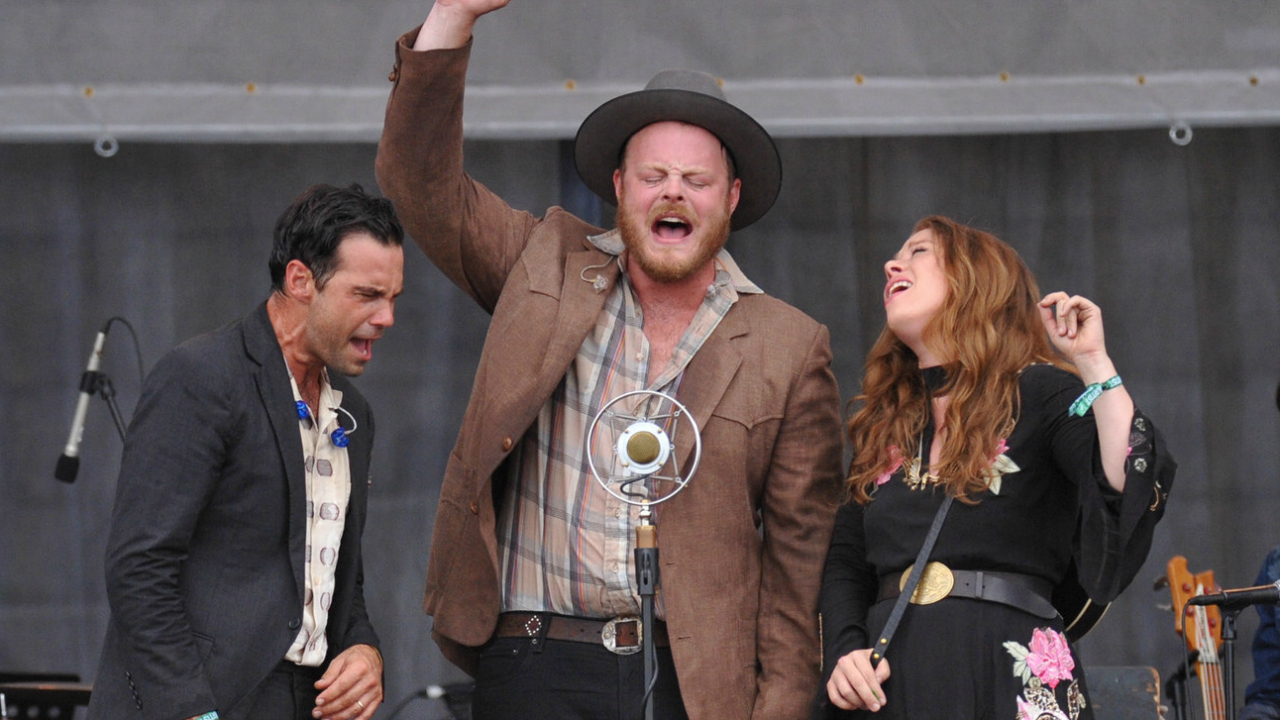The Lone Bellow (photo by Neil Swanson for WFUV)