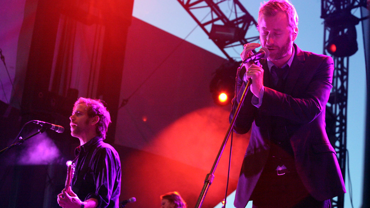 The National at Austin City Limits (photo by Laura Fedele)