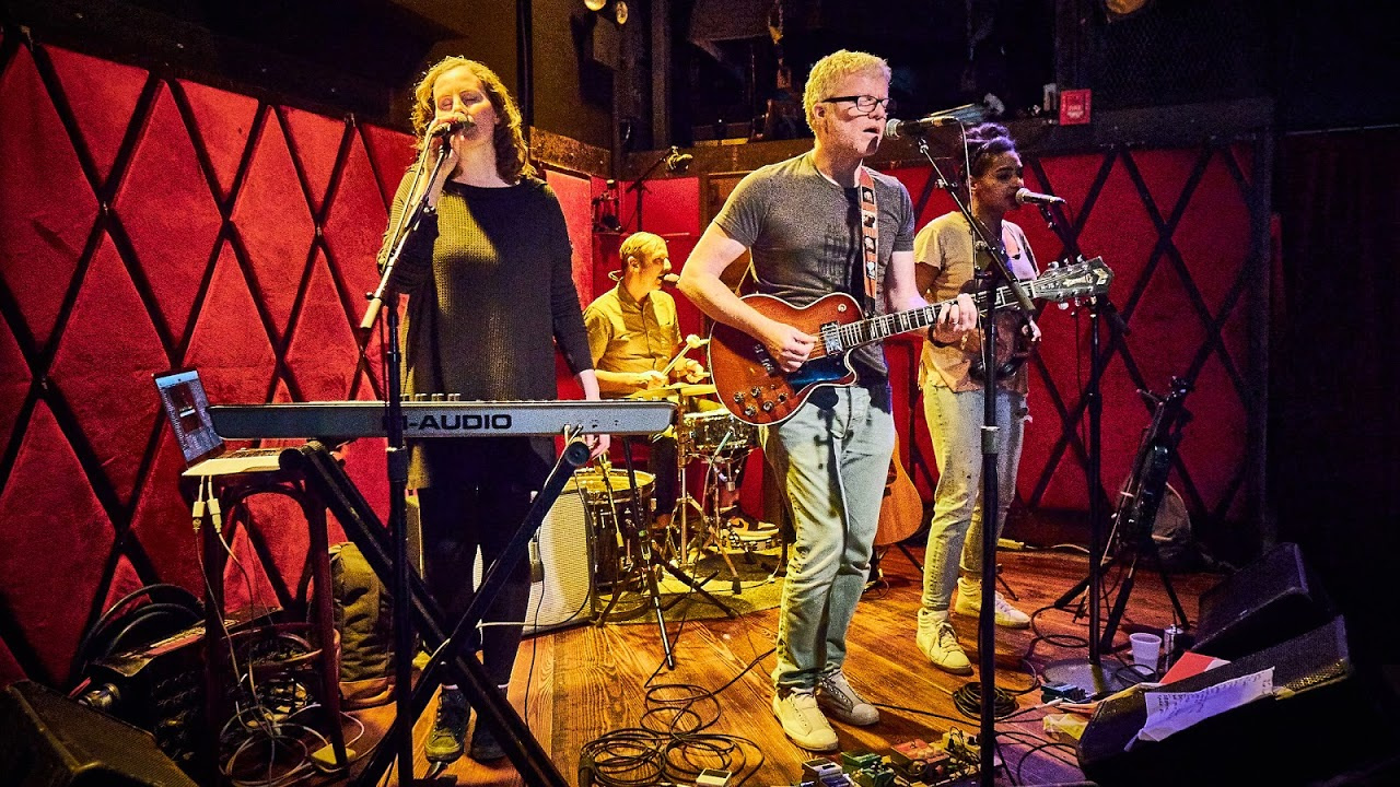 The New Pornographers at Rockwood Music Hall (photo by Gus Philippas/WFUV)