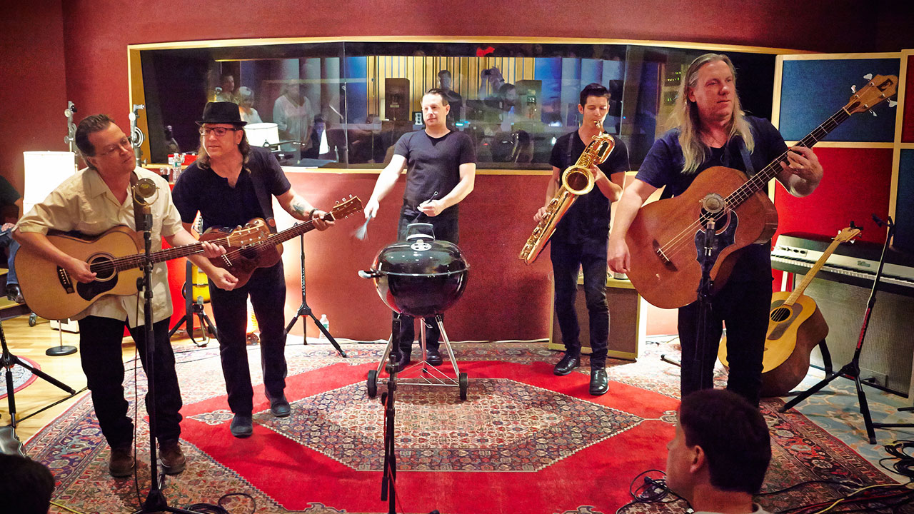 Violent Femmes at Electric Lady Studios