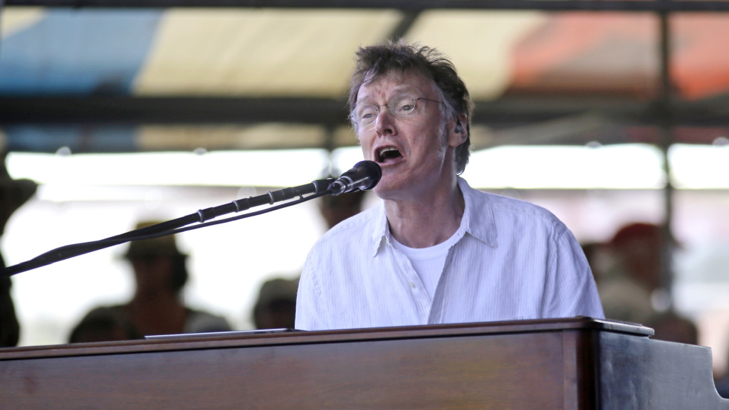 Steve Winwood at the New Orleans Jazz and Heritage Festival in 2015 (AP Photo/Gerald Herbert)