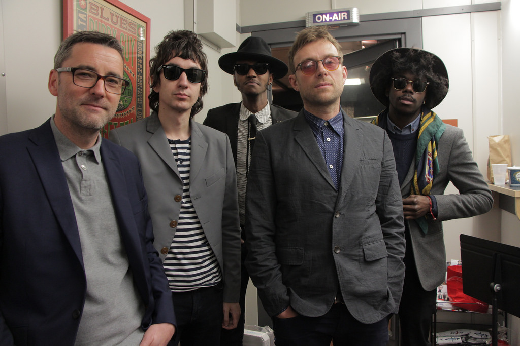 Hear an FUV Live session with Damon Albarn and The Heavy Seas tonight at 9.