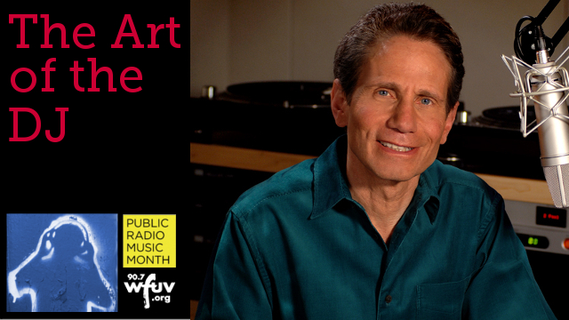 """Celebrate the """"Art of the DJ"""", right here at FUV! Today: Dennis Elsas."""