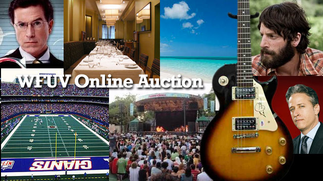 Closing today: It's your last chance to bid in WFUV's online benefit auction.