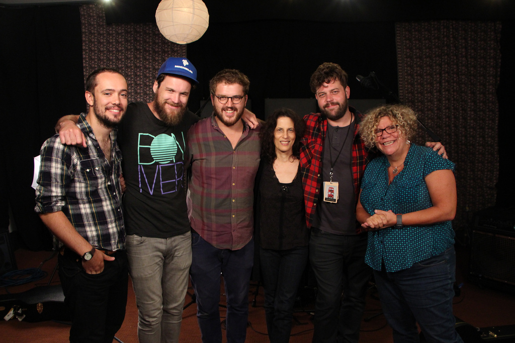 Britain's Bear's Den stops by Studio A for an FUV Live session...Tonight at 9
