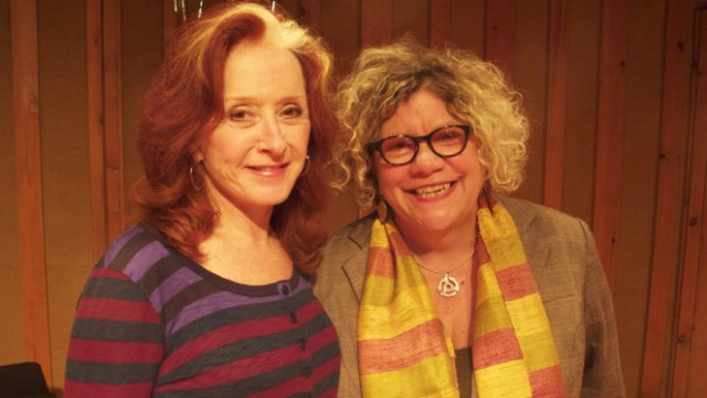 Bonnie Raitt and Rita Houston (photo courtesy of RED Music)
