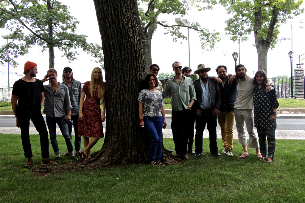 Hear Edward Sharpe and the Magnetic Zeros live in Studio A, tonight at 9.