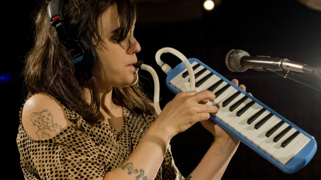 One-woman-band, Emily Wells, has a melodica (and much more) in her musical spaceship. She'll explain, tonight at 9pm on Words and Music.