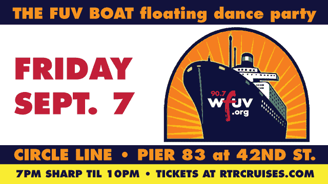 The FUV Boat: A Floating Dance Party to Benefit FUV!