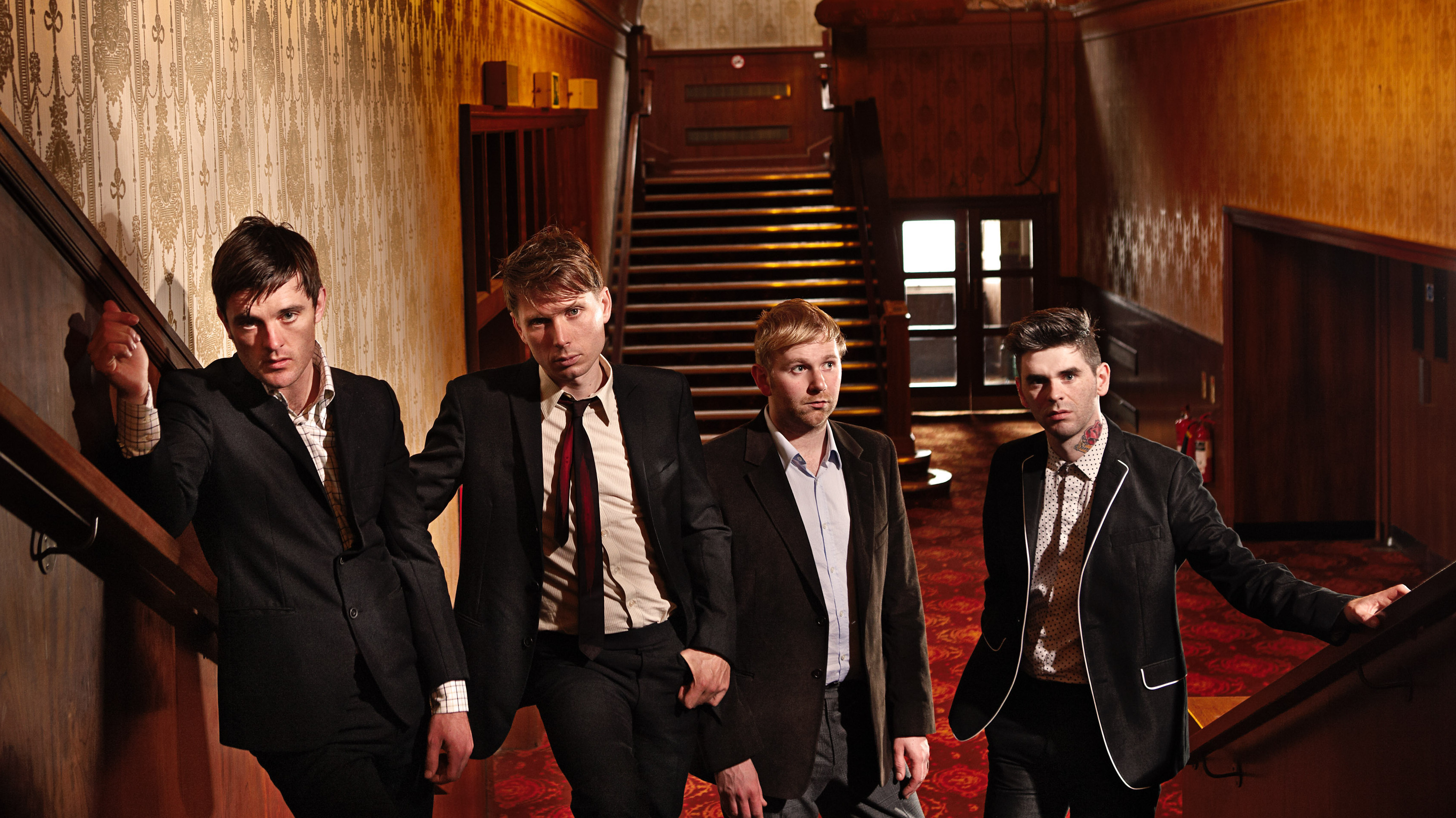 Tonight at 9: Franz Ferdinand on FUV Live.