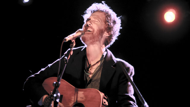 Bringing heart, soul and voice to Holiday Cheer for FUV on 12/10: Glen Hansard.