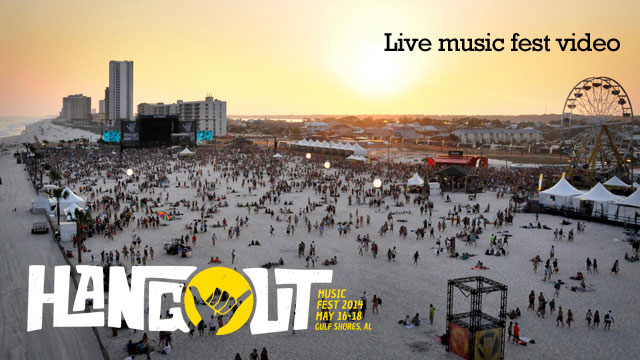 Feet in the sand, bands on the stages. Time to check out the Hangout Fest.