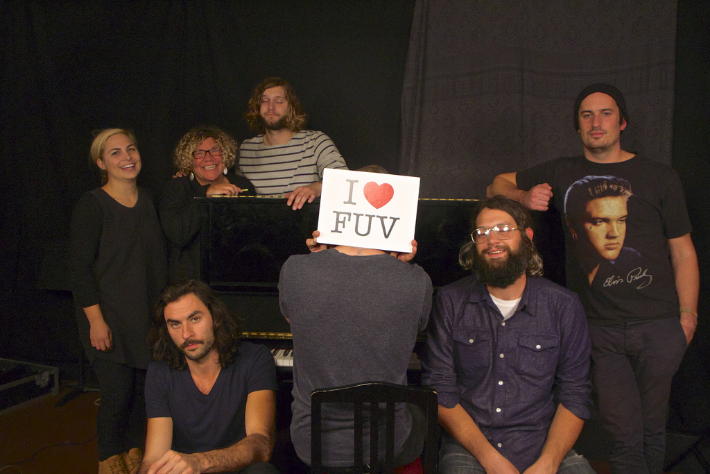 The Head and The Heart are on FUV Live tonight at 9!
