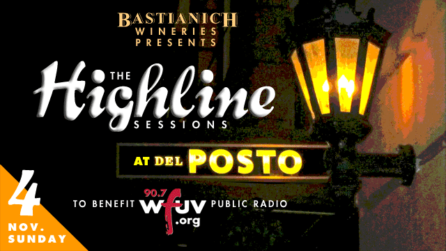 An evening of music, wine and food at Del Posto to benefit WFUV: Get on the guest list today.