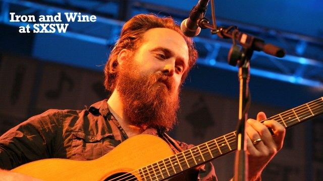 Iron & Wine (photo by Laura Fedele/WFUV)