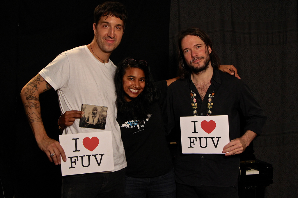 Joseph Arthur & Bill Dobrow join host, Alisa Ali in Studio A for an FUV Live session tonight at 9
