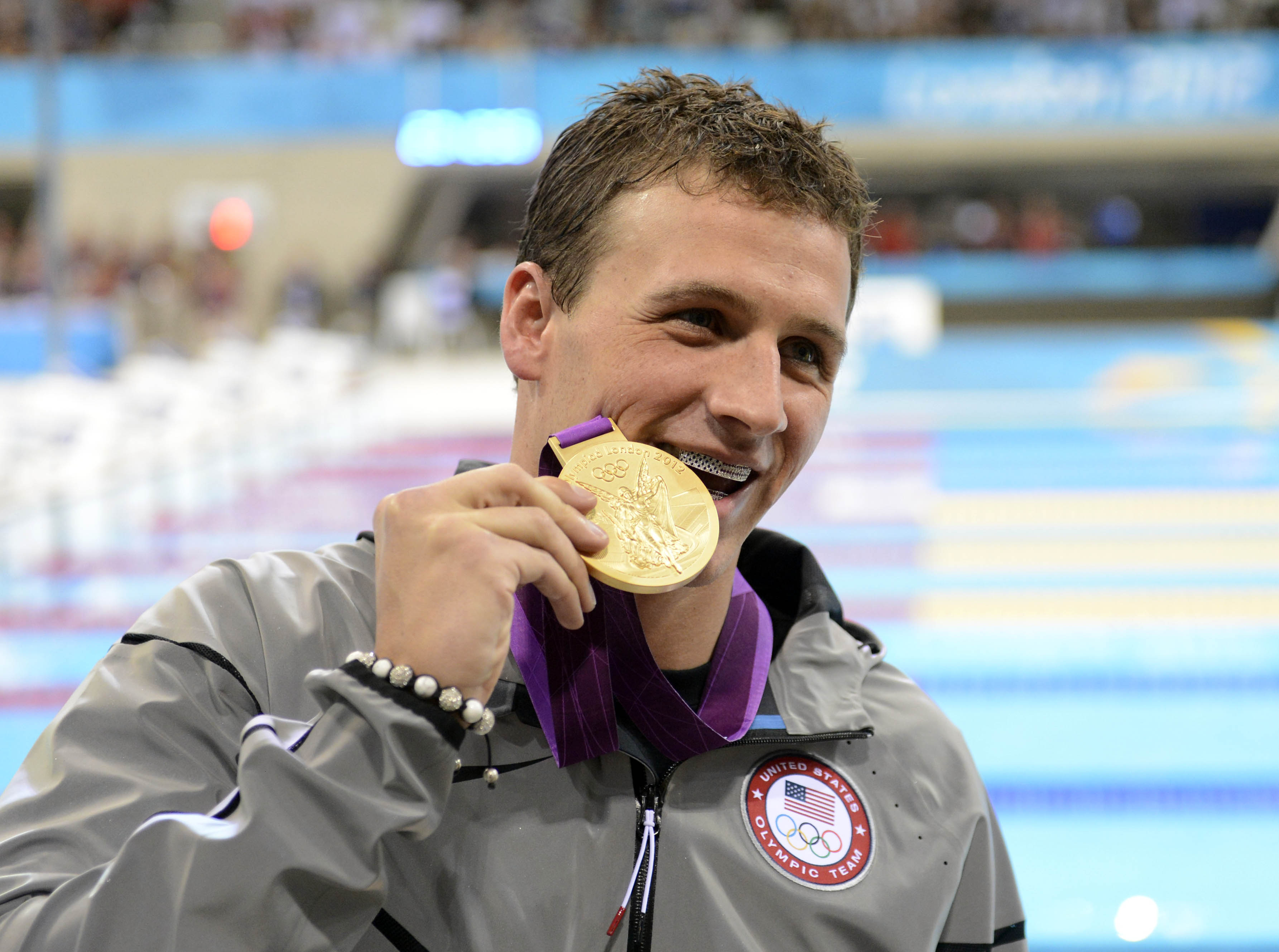 Is it possible Claudia could be immune to the charms of eight-time Olympic medalist Ryan Lochte?