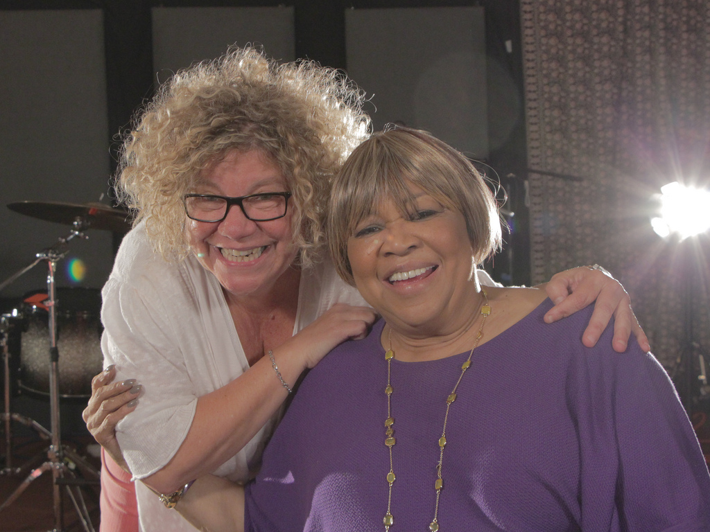 Mavis Staples joins Rita Houston in Studio A on FUV Live, tonight at 9.