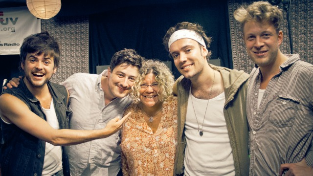 Tonight at 9pm, hear Rita Houston's visit with Mumford & Sons, celebrating the release of their new album 'Babel.' Check out video here!