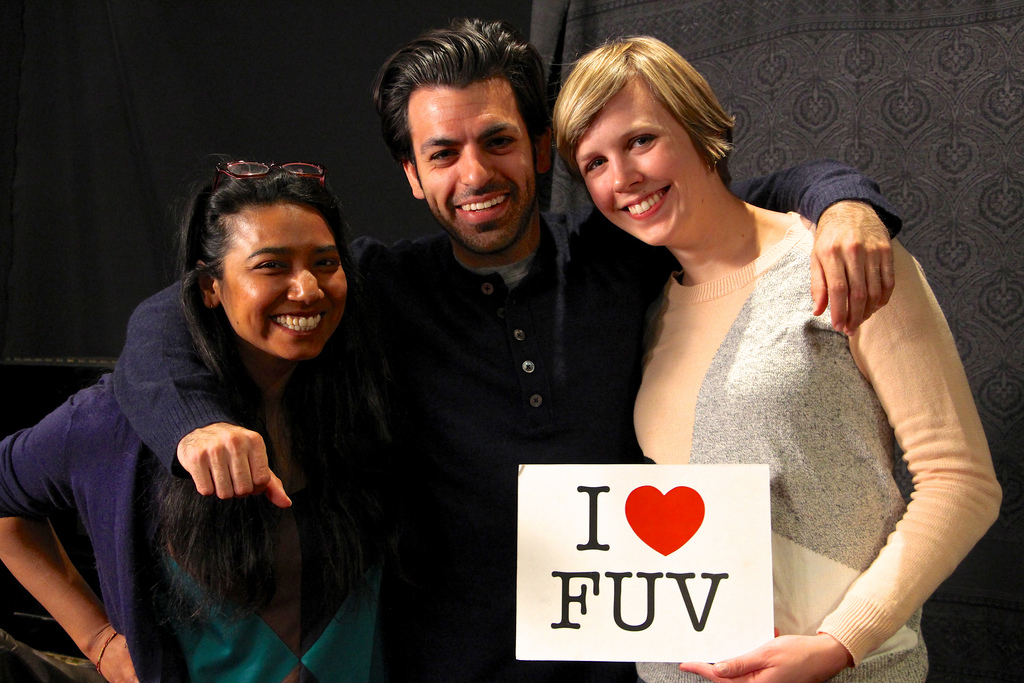 Alisa Ali Hosts the Charming & Witty, Nataly Dawn in Studio A for an FUV Live Session tonight at 9