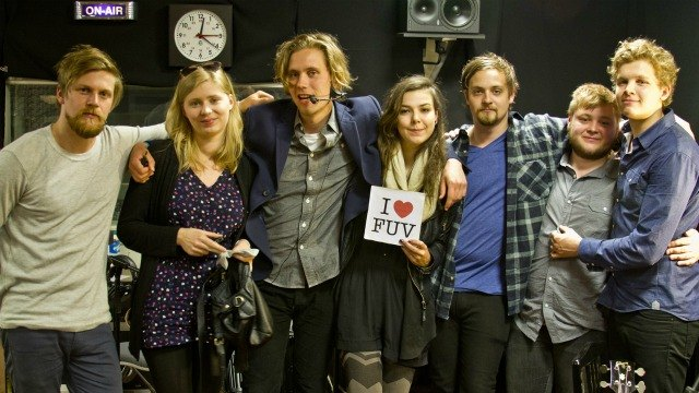 Wednesday at 9pm on Words and Music: It's a full Studio A as Claudia Marshall welcomes the Icelandic band, Of Monsters and Men, to FUV.