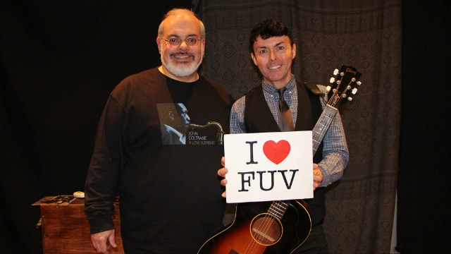 Hear Richard Barone in Studio A with Darren DeVivo, tonight at 7 on FUV or anytime in the FUV Vault.
