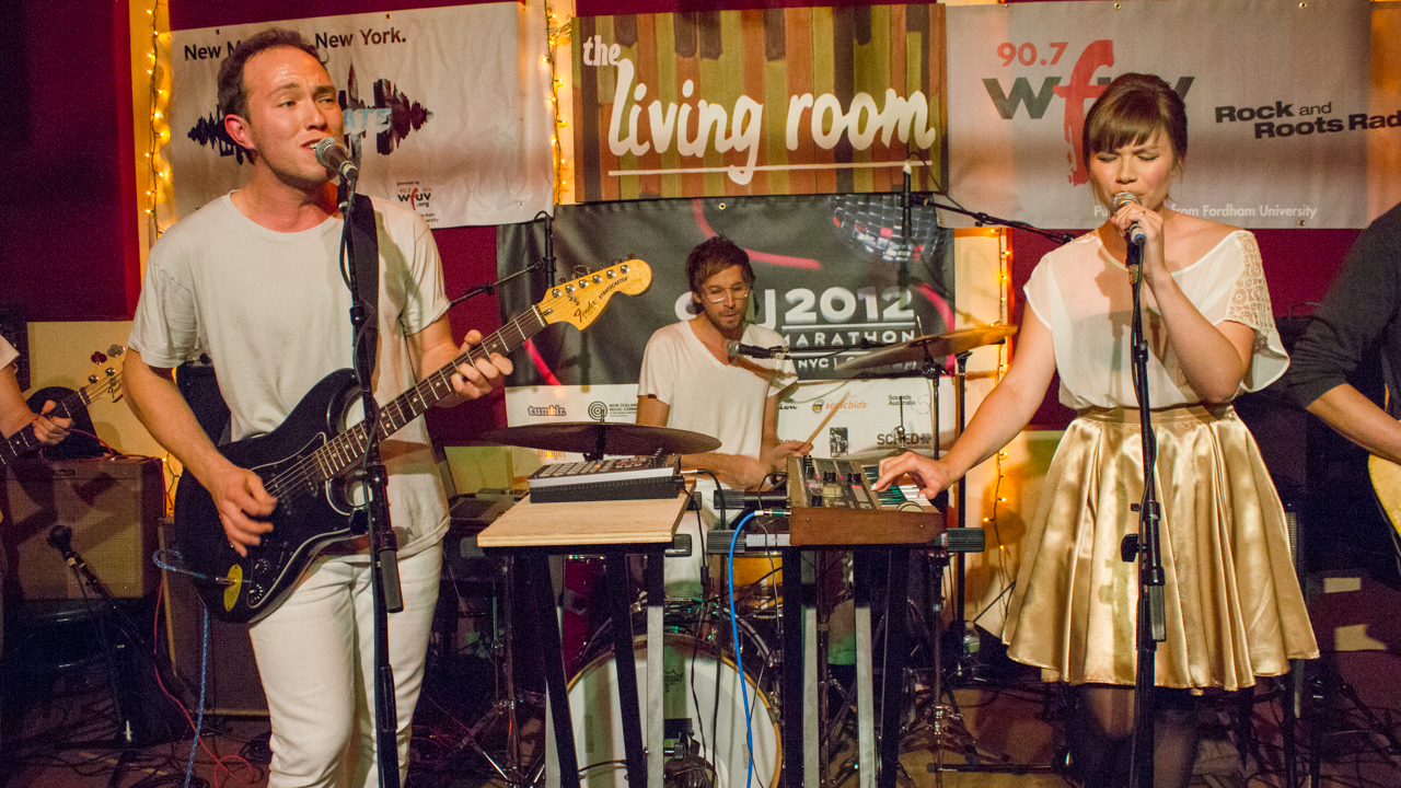 Check out sights and sounds of the WFUV/Alternate Side CMJ showcase, including video of Brooklyn's Savoir Adore.