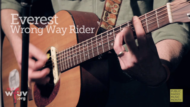 "Watch Everest's New Song ""Wrong Way Rider"" on WFUV's SongWorks"