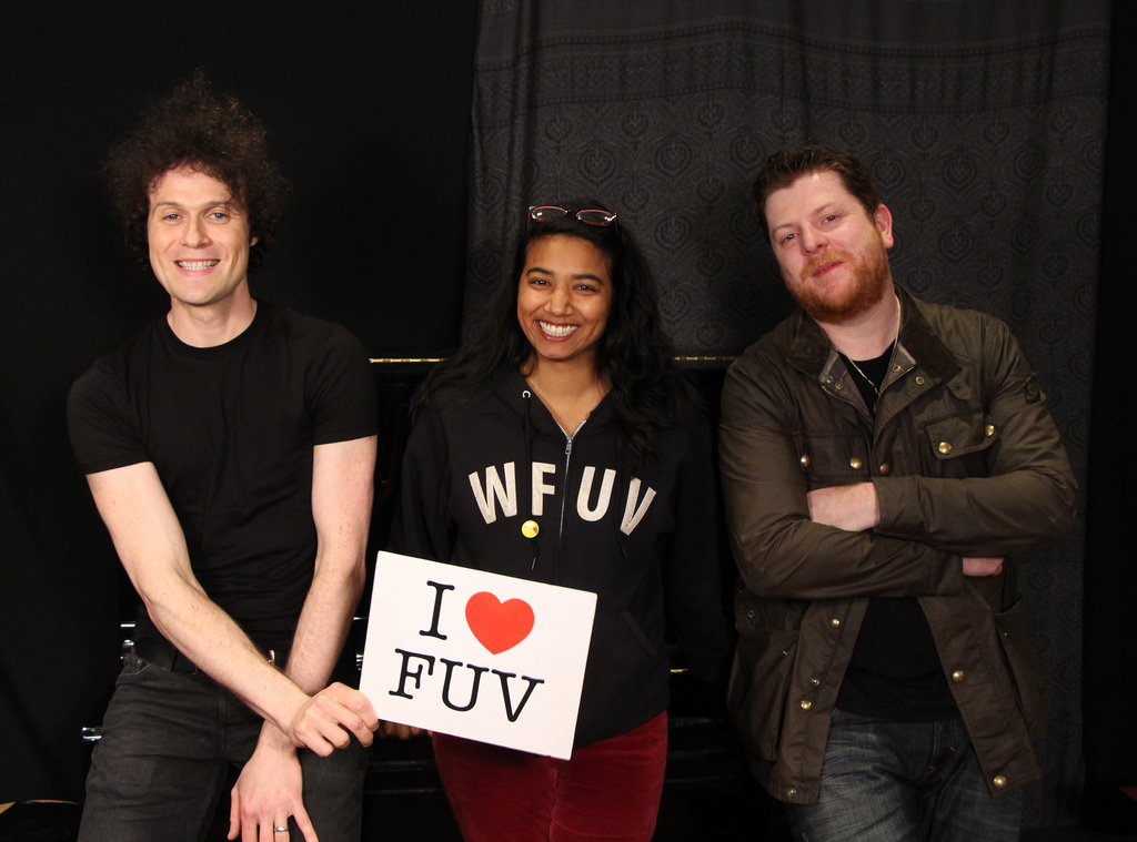 Hear an FUV Live session with The Fratellis tonight at 9
