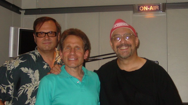 Dennis Elsas with Dennis Diken and Pat DiNizio at WFUV