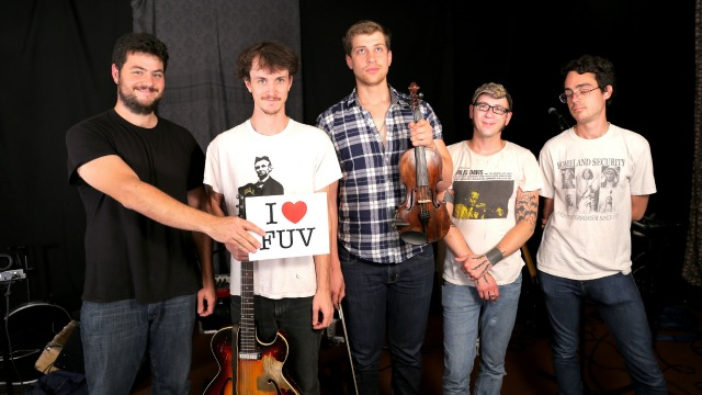 Hear Holiday Cheer for FUV artists The Felice Brothers, tonight at 9 and in the FUV Vault.
