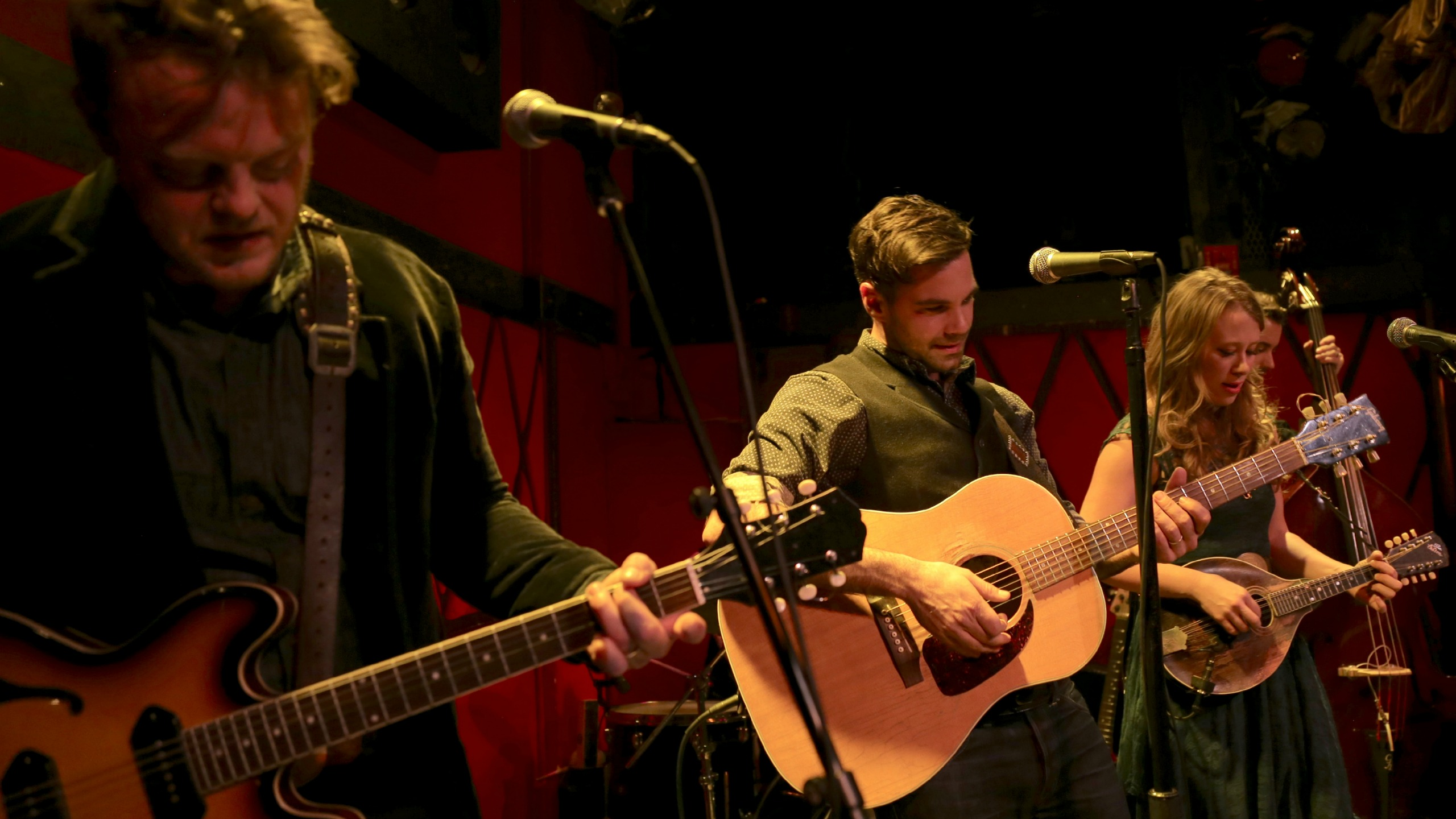 In anticipation of their shows here in NYC this week, hear a live concert with The Lone Bellow tonight at 9.