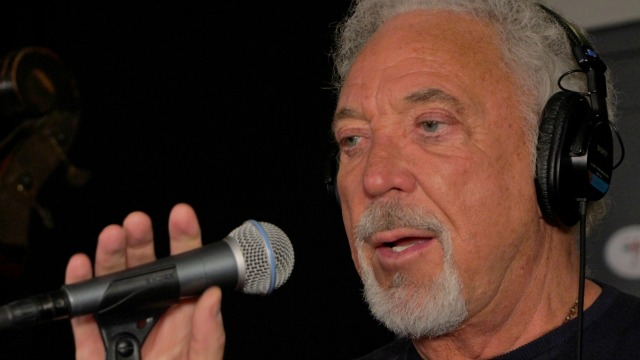 Did you miss hearing Tom Jones in Studio A? Listen here, and watch video.