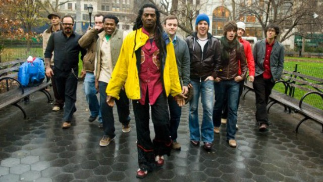 Check out video of a favorite Studio A visit with Antibalas, then hear the whole session, tonight at 9 on Words & Music.