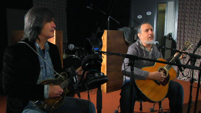 Hear an FUV Live session with David Bromberg and Larry Campbell tonight at 9