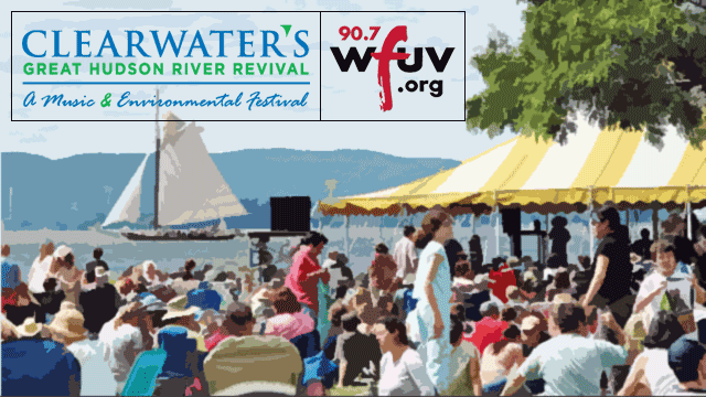 Hear the sounds of the Clearwater Festival on FUV this weekend. See the full schedule.