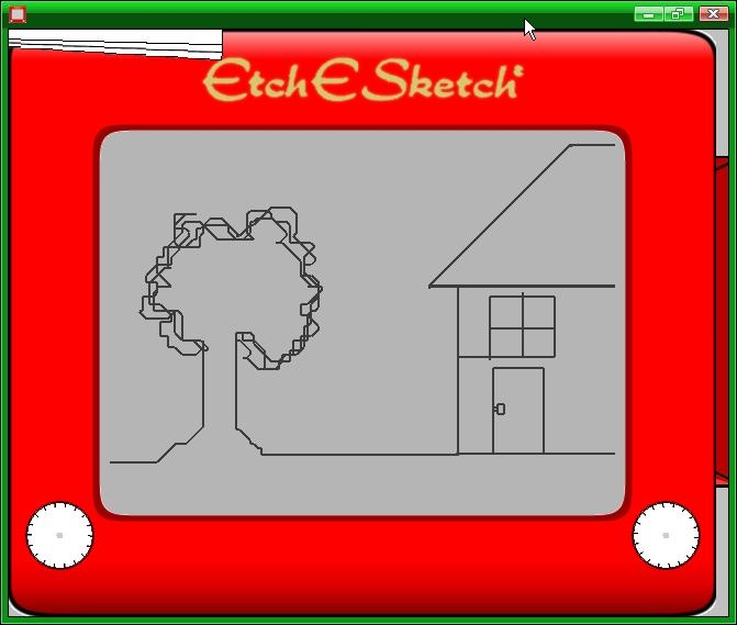 Romney's campaign is compared to an etch-a-sketch