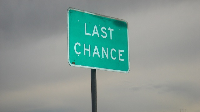 Question of the Day: Last Chance