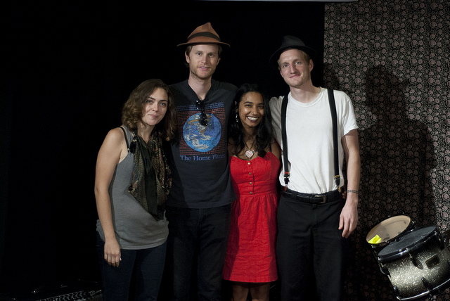 "Tuesday at 9pm on Words and Music: Meet the band behind ""Ho Hey"" as The Lumineers visit Studio A. Check out in-studio video too."