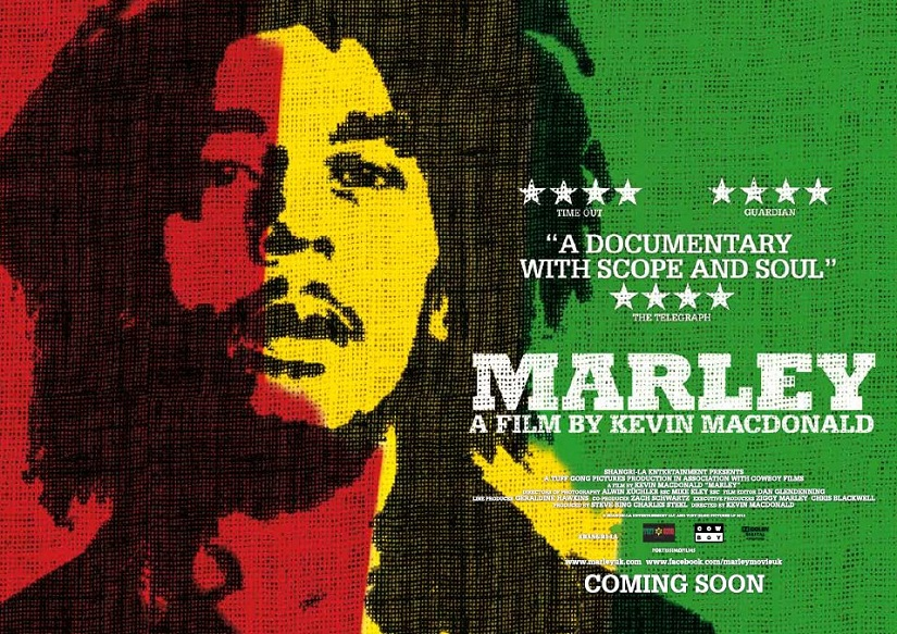Marley: The Definitive Story plays tonight at The Sounds of Summer: New Music Documentaries at the Jacob Burns Film Center