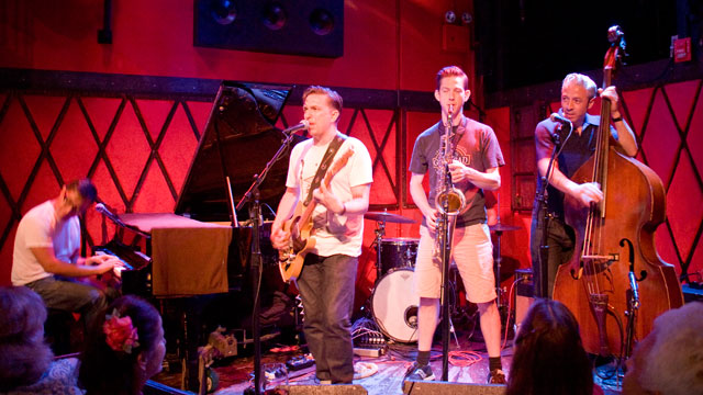 Wednesday at 9pm on Words and Music, we head to Rockwood Music Hall for some R&B-tinged rockabilly from JD McPherson.