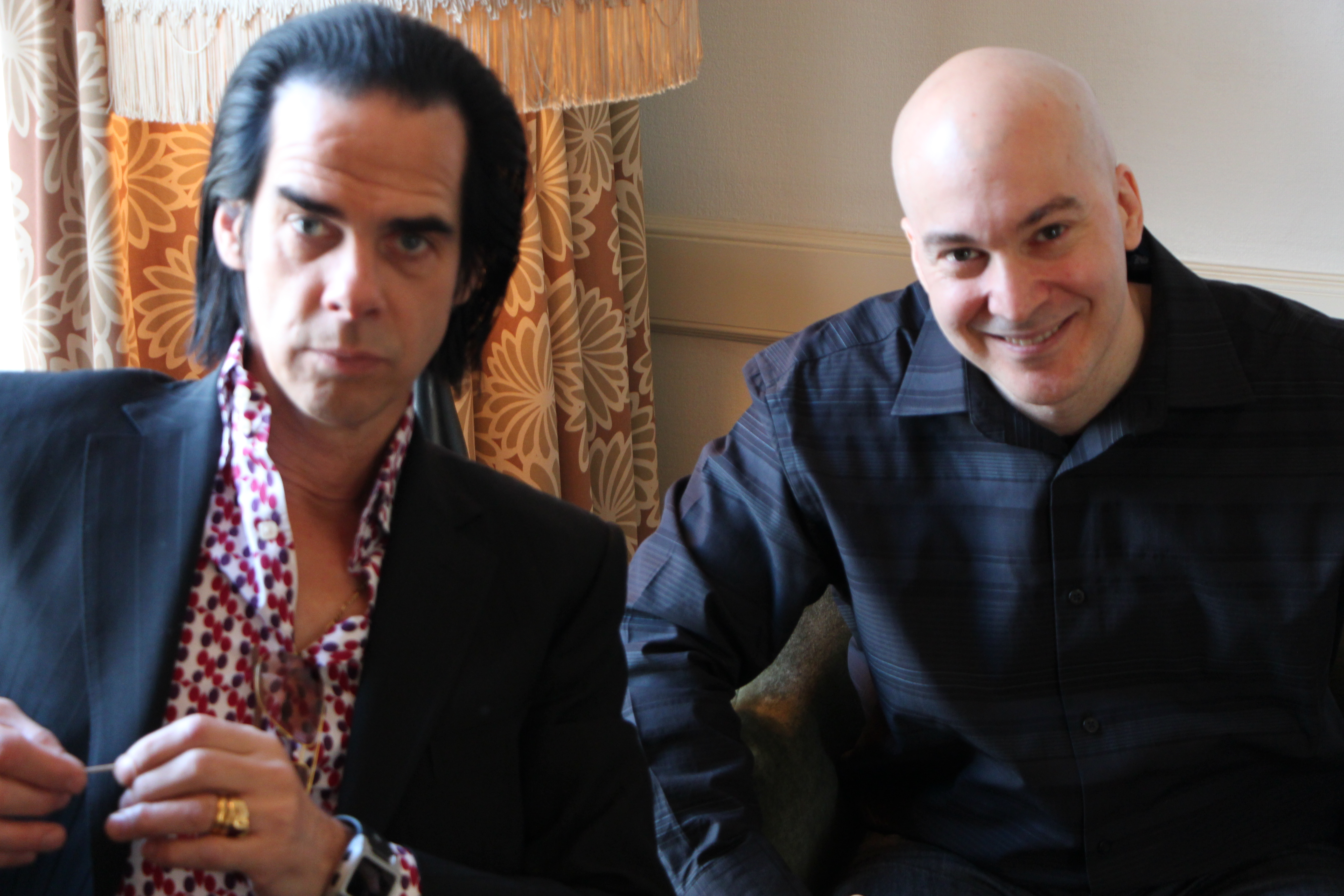 Nick Cave talks with WFUV Host, Eric Holland tonight on FUV Live