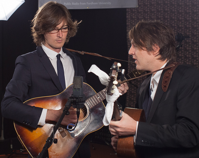 Check out video of The Milk Carton Kids in Studio A, then hear their full Words & Music session, tonight at 9pm.
