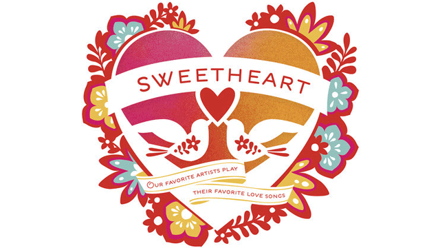 Add the 'Sweetheart 2014' CD to your thank you gifts when you contribute $100 or more today.