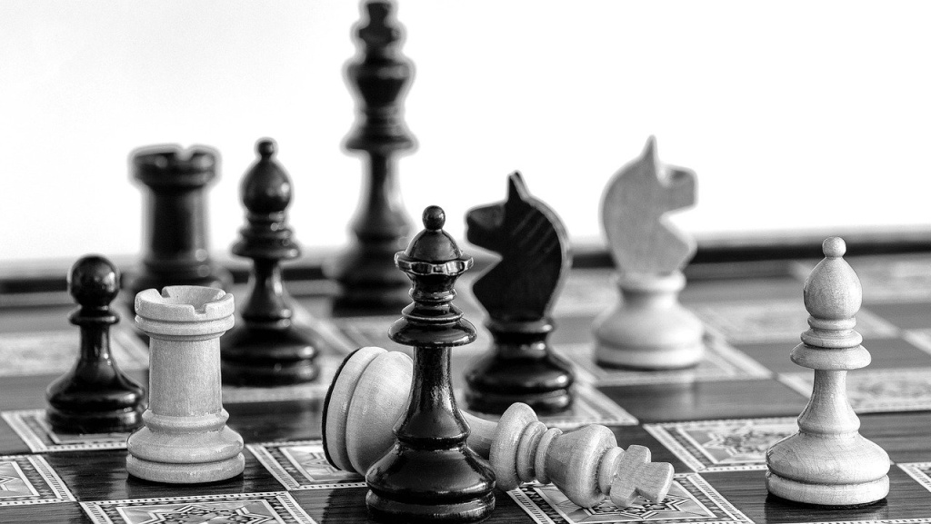 Chess (photo by Elmer Geissler for Pixabay)
