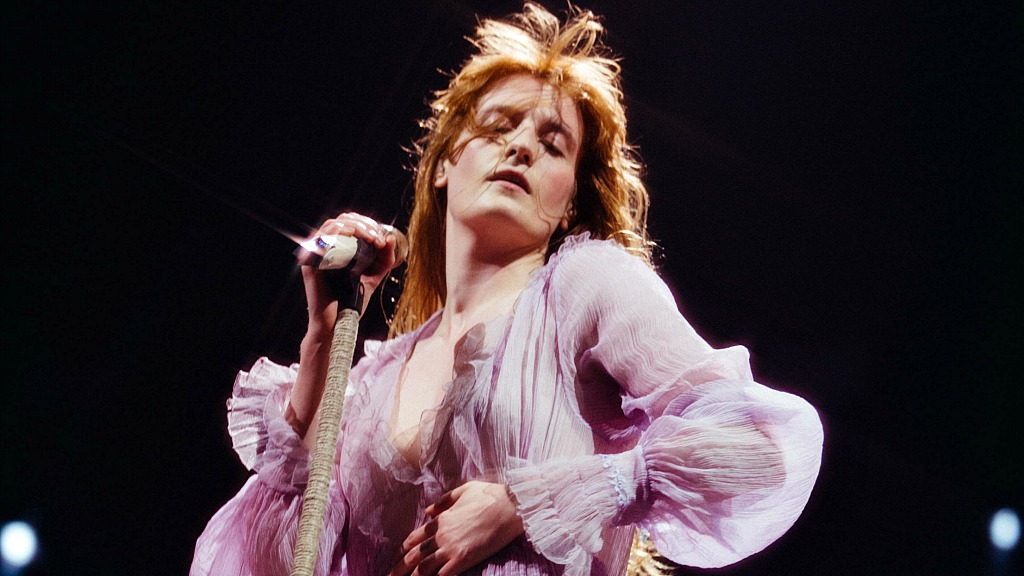 Florence and the Machine's Flo Welch (photo by Lillie Eiger, PR)